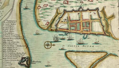 "Edward crisp ""a compleat description of the province of carolina in"